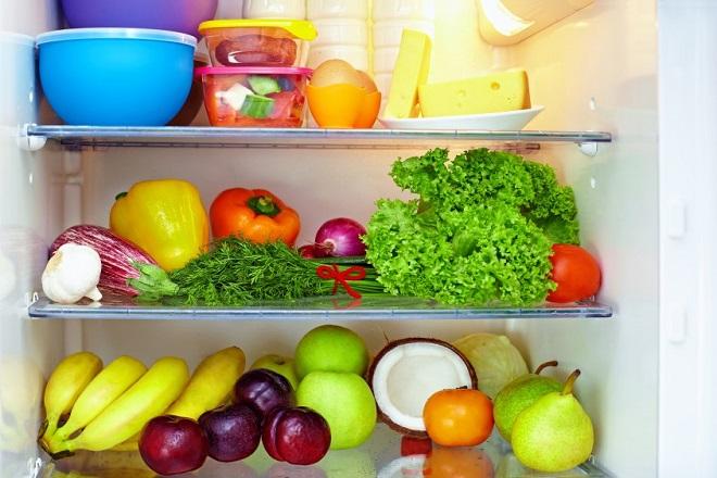 trái cây để tủ lạnh