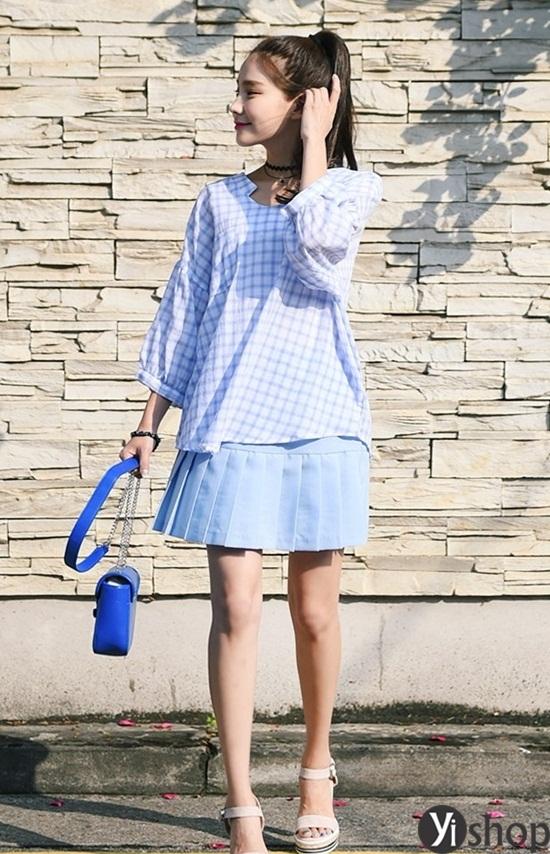 Trào lưu áo sơ mi nữ oversize đẹp đang gây sốt trong làng thời trang Việt 2019 phần 13