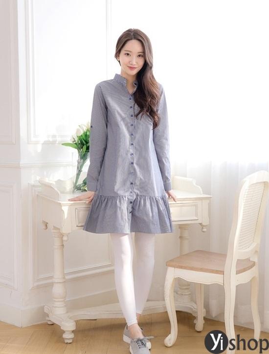 Trào lưu áo sơ mi nữ oversize đẹp đang gây sốt trong làng thời trang Việt 2019 phần 8