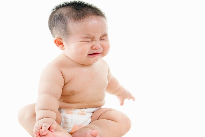 trẻ sơ sinh bị bệnh đường ruột