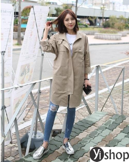 Tuyển tập áo khoác nữ dáng dài đẹp món đồ cần thiết trong mùa đông 2021 - 2022 phần 13
