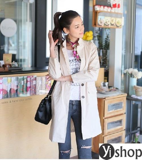 Tuyển tập áo khoác nữ dáng dài đẹp món đồ cần thiết trong mùa đông 2021 - 2022 phần 15