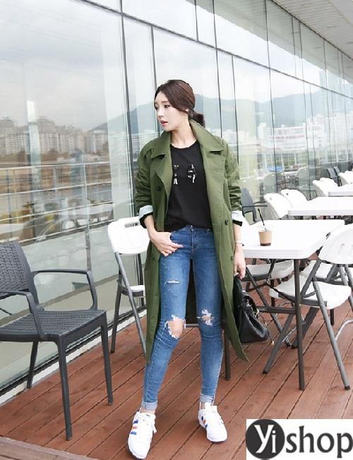 Tuyển tập áo khoác nữ dáng dài đẹp món đồ cần thiết trong mùa đông 2021 - 2022 phần 4