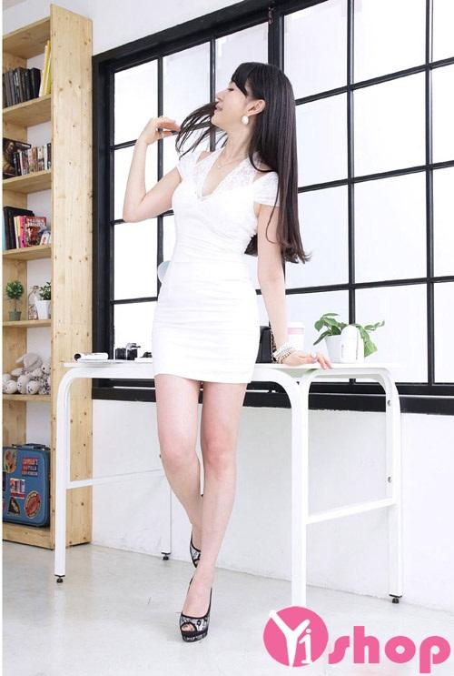 Váy đầm body dài đẹp quyến rũ khoe dáng chuẩn đi dự tiệc hè 2021 - 2022