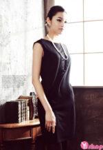 Váy đầm công sở đẹp đơn giản tinh tế kiểu dáng Hàn Quốc hè 2021 – 2022