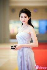 Váy đầm dự tiệc dáng dài đẹp cho nàng sang trọng cuốn hút hè 2021 – 2022