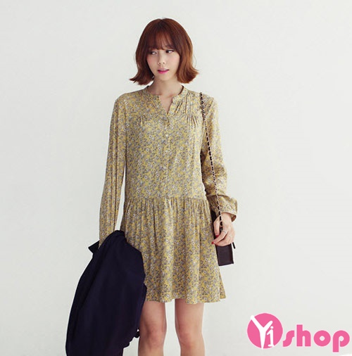 Váy đầm flapper đẹp hè 2021 - 2022 cho nàng thấp lùn dễ thương