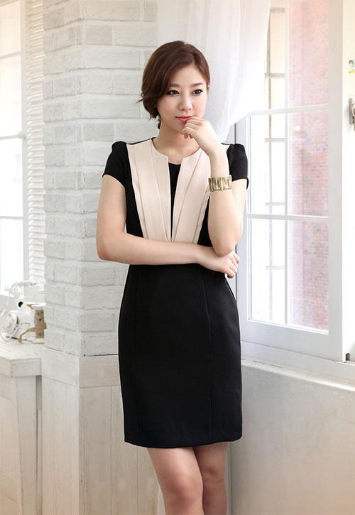 Váy đầm liền thân công sở đẹp hè 2021 - 2022 cho nàng thanh lịch dịu dàng