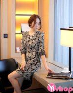 Váy đầm liền thân tay lỡ đẹp thời trang hè 2021 – 2022 ngọt ngào xinh xắn