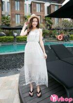 Váy đầm maxi đẹp kiểu Hàn Quốc hè 2021 – 2022 xinh xắn cuốn hút mọi ánh nhìn