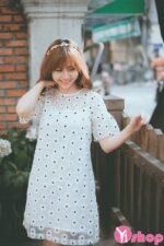 Váy đầm ren suông đẹp hè 2021 – 2022 cô nàng tiểu thư ngọt ngào tinh tế