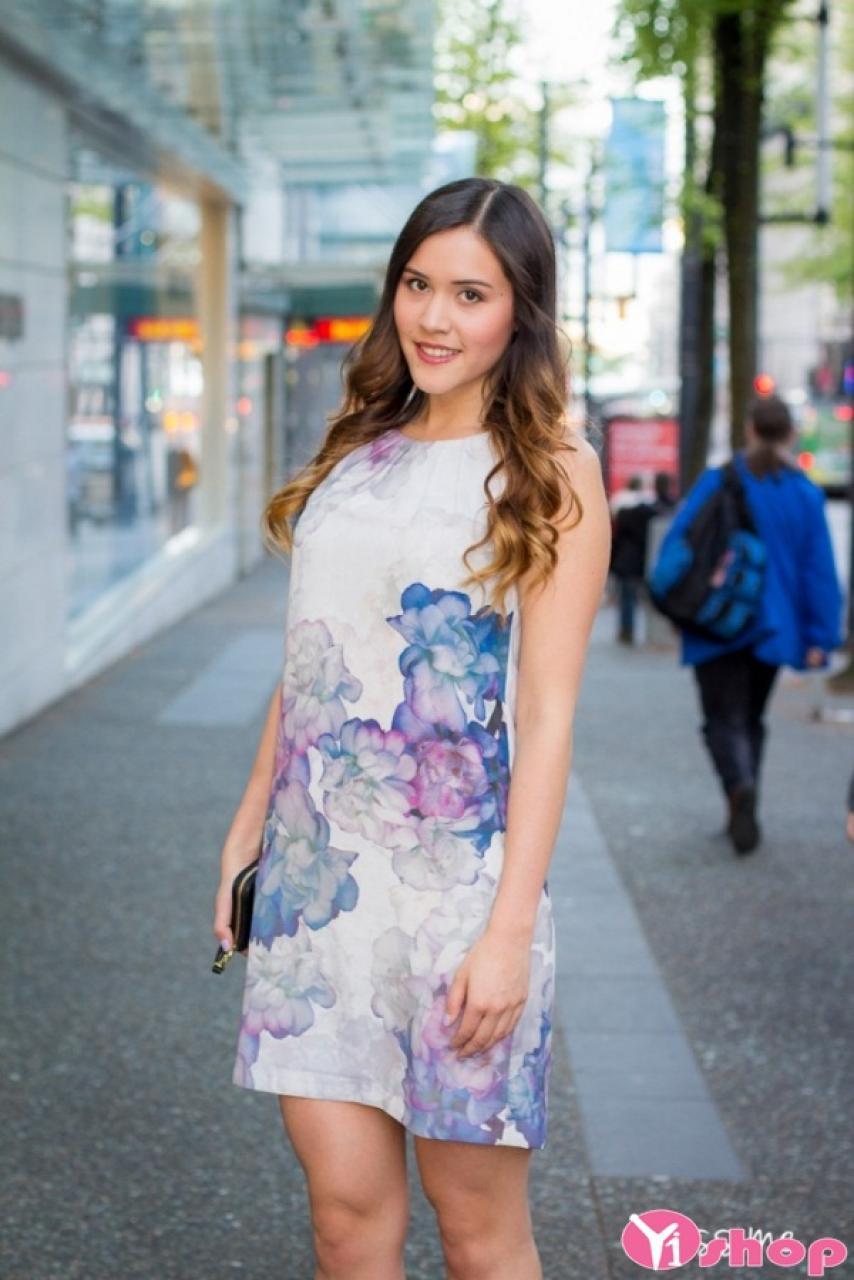 Váy đầm suông chữ A đẹp cho người béo mập mùa hè 2021 - 2022 thêm duyên dáng