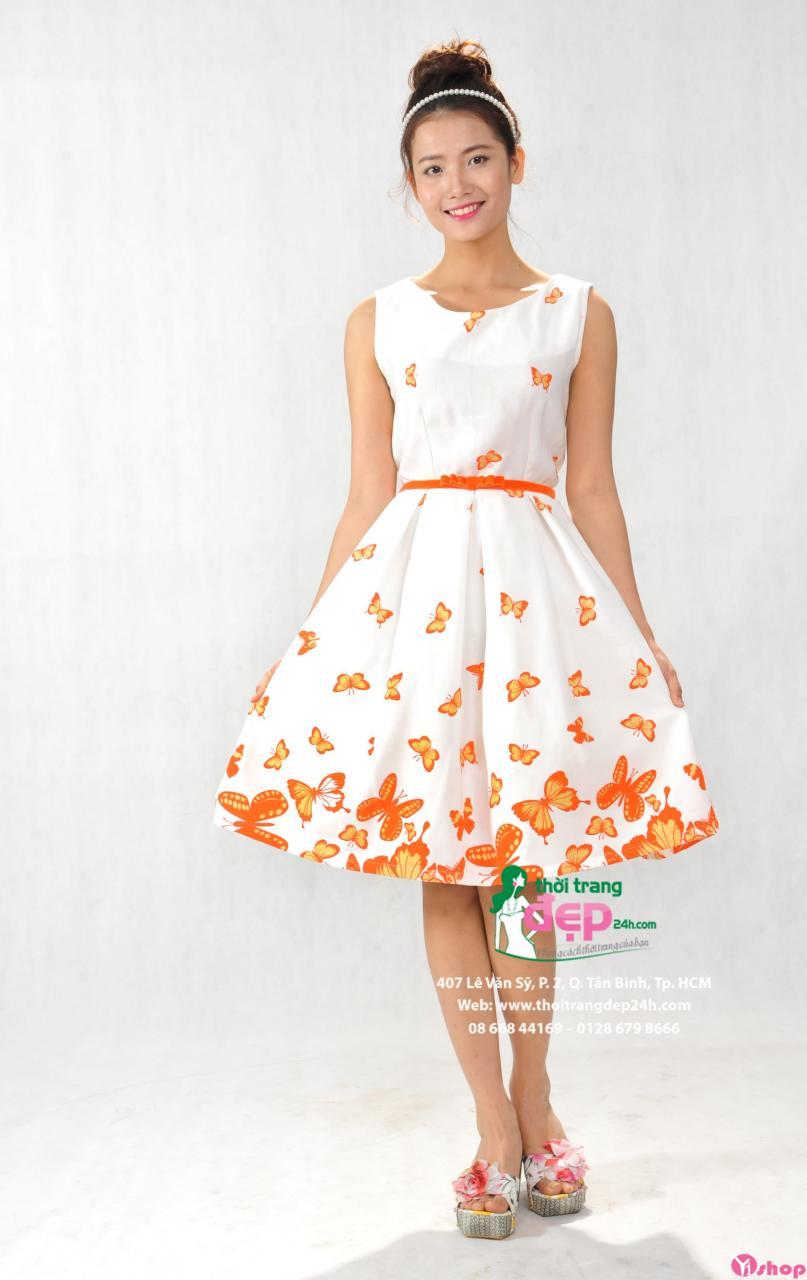 Váy đầm xòe ngắn đẹp hè 2021 - 2022 tự tin khoe chân thon quyến rũ