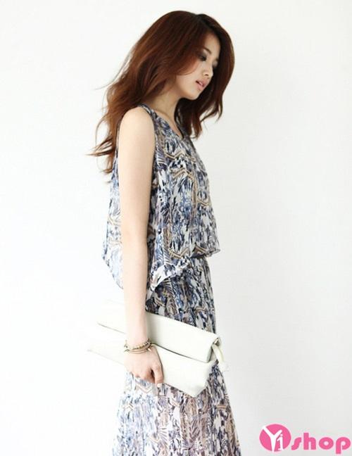 Váy đầm maxi đẹp cho nàng thấp lùn quyến rũ hè 2021 - 2022