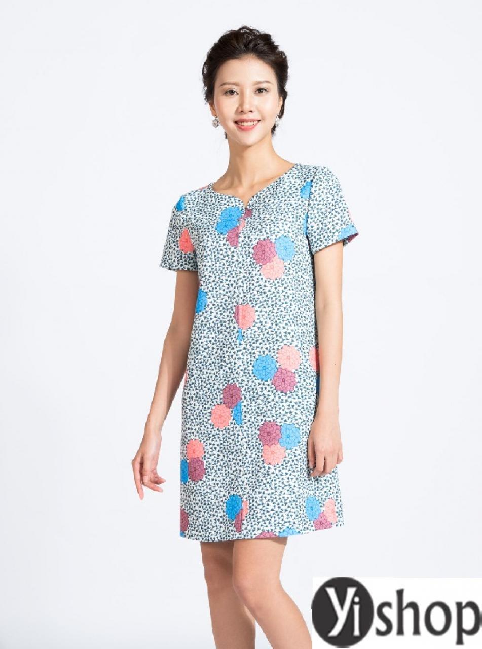 Váy suông công sở hàn quốc đẹp hè 2021 - 2022