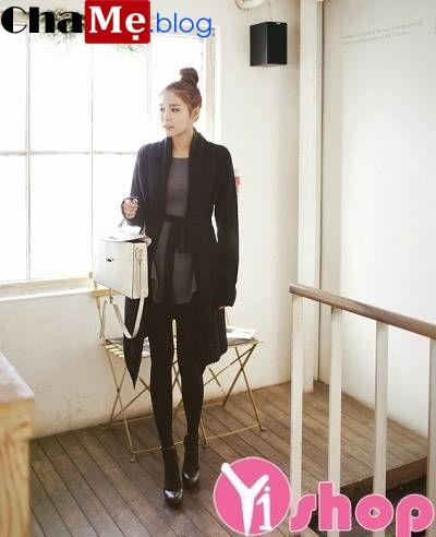 Vô số kiểu áo khoác cardigan nữ dáng dài đẹp cực lôi cuốn thu đông 2021 - 2022