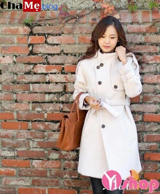 Xu hướng áo khoác dạ nữ sài gòn tphcm cổ cao đẹp đang gây bão trong giới trẻ đông 2021 - 2022