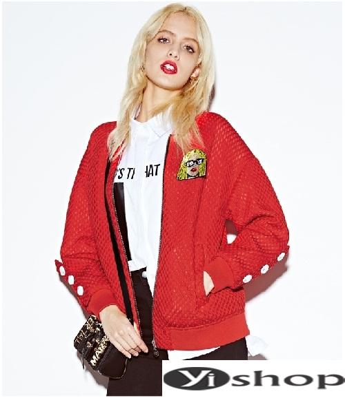 Xu hướng áo khoác nữ bomber jacket đẹp không thể chất hơn đông 2021 - 2022 phần 10