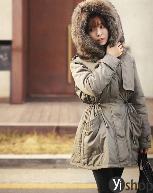 Xu hướng áo khoác nữ quân đội đẹp mới nhất đông 2021 - 2022 hiện nay phần 3