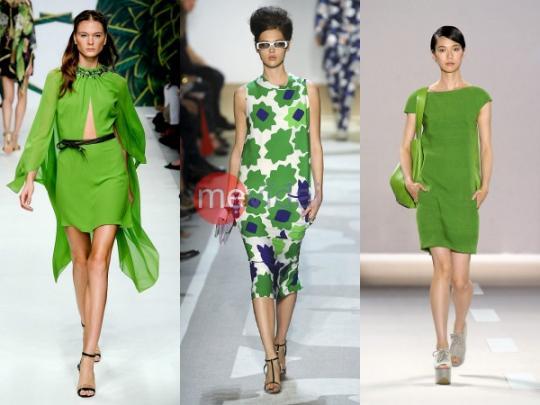 Xu hướng màu sắc thời trang xuân hè 2021 - 2022