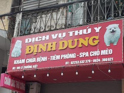 Dịch Vụ Thú Y Định Dung