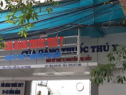 Cửa Hàng Thuốc Thú Y