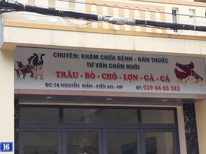 Phòng khám thú y Chuyên:khám Chữa Bệnh-bán Thuốc-tư Vấn Chăn Nuôi