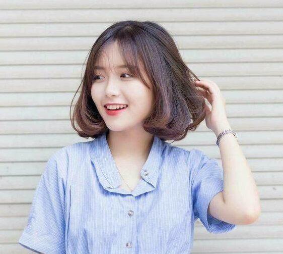 Kiểu tóc ngắn bồng bềnh tự nhiên cho bạn gái hè 2021. Ảnh: Internet