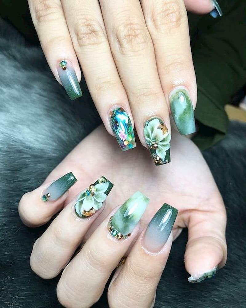 mẫu-nail-đẹp-đính đá-1