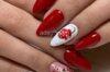 Top nail đỏ đẹp 48 mẫu cho dịp lễ hội: tết, giáng sinh, ngày cưới, halloween