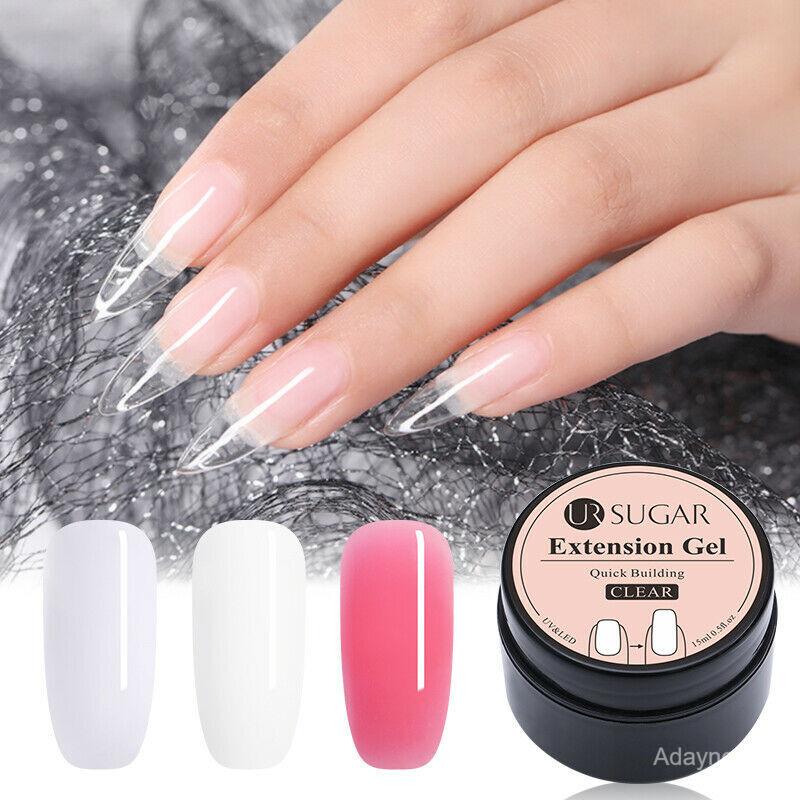 Đắp móng gel (nail gel) là phương pháp nối để móng tay dài hơn