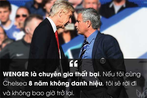 Wenger là chuyên gia thất bại