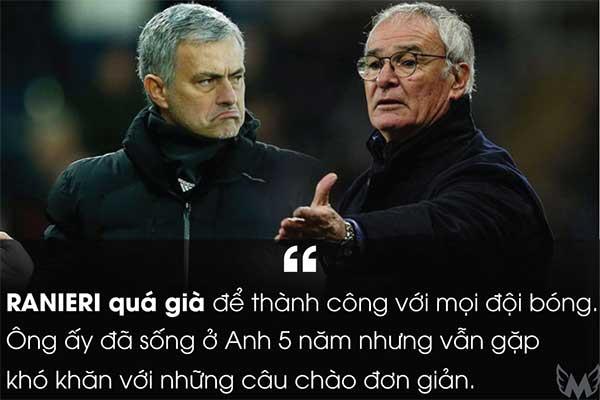 Ranieri quá già để thành công với mọi đội bóng