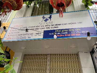 Bệnh viện phòng khám thú y Đà Nẵng Pet