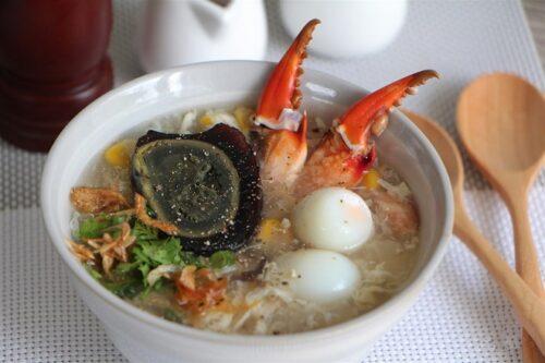 súp cua cho mẹ bầu ăn mùa nắng nóng