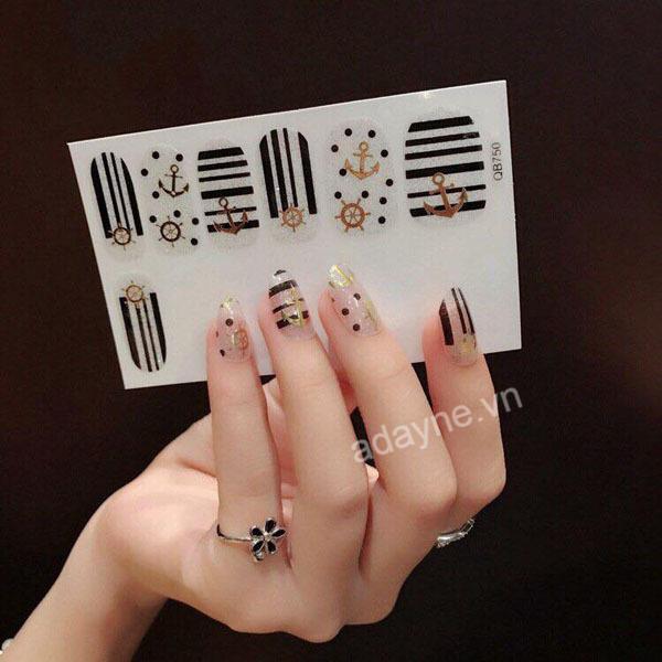 Sở hữu ngay mẫu nail siêu cấp đáng yêu chỉ với 05 bước cùng sticker vẽ móng tay đơn giản dễ thương