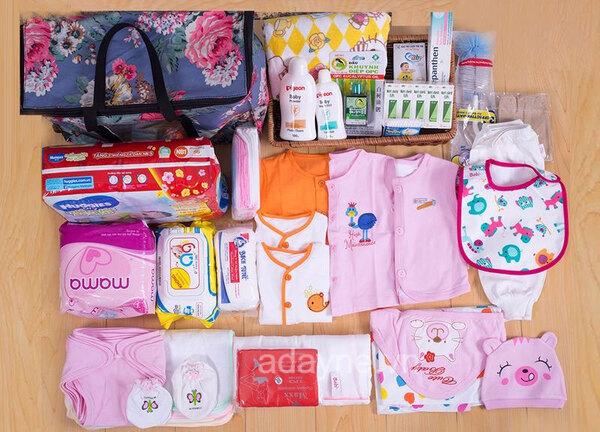 những món đồ sơ sinh không thể thiếu cho mẹ và bé
