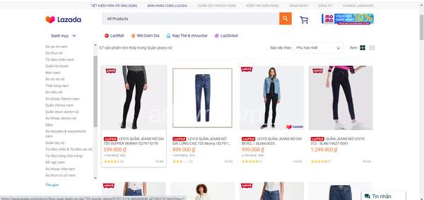 Levi's VN -Shop thời trang uy tín trên Lazada