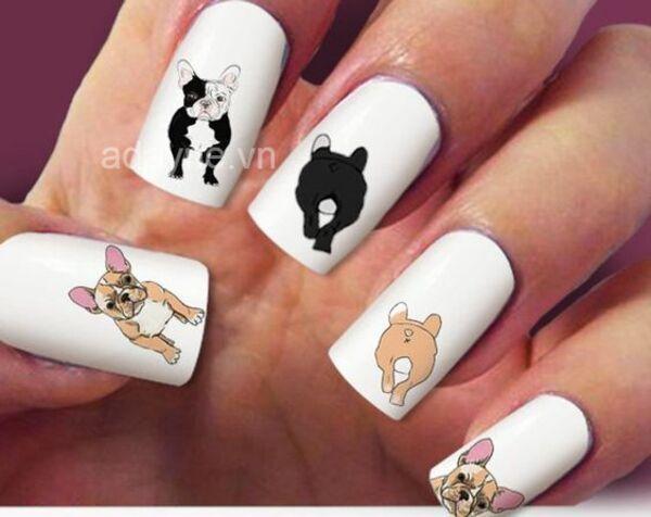 Các mẫu nail đơn giản dễ thương lấy cảm hứng từ boss vô cùng độc lạ