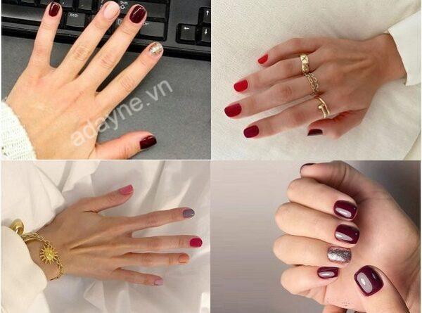 Mẫu nail đẹp đơn giản cho cô nàng sành điệu