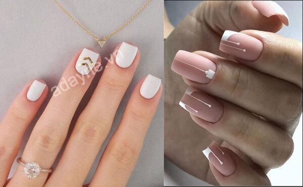 Xinh đẹp, dịu dàng hơn khi sở hữu mẫu nail đẹp đơn giản tông trắng, hồng thanh nhã