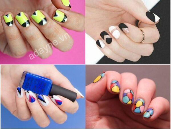 Những mẫu nail đẹp đơn giản phù hợp cho học sinh cute hết nấc