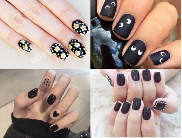 Các mẫu móng tay nail đẹp đơn giản siêu cá tính