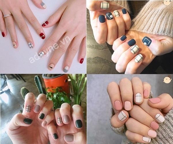 Mẫu nail đẹp đơn giản cho cô nàng công sở thêm phần tự tin