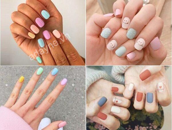 Top mẫu nail đẹp đơn giản giúp nàng da ngăm thêm phần tự tin