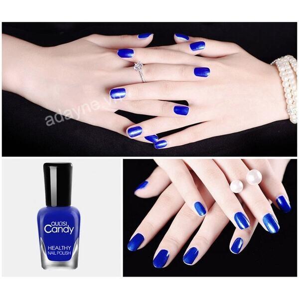BST mẫu nail màu xanh dương đẹp dẫn đầu xu hướng thời trang hiện nay