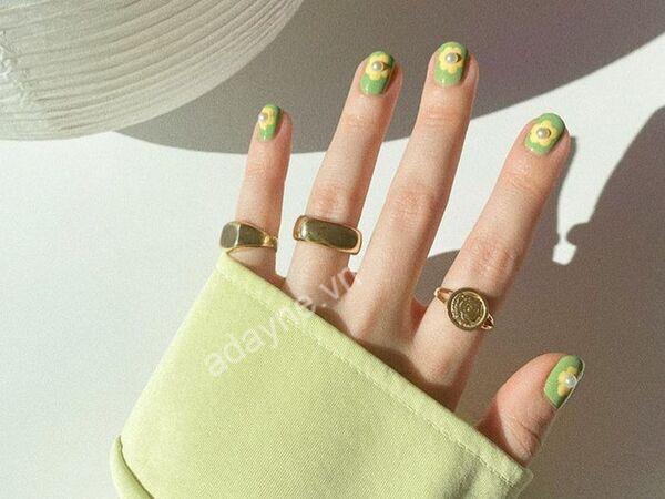 Nail xinh cute, màu sắc tươi sáng luôn là sự lựa chọn hoàn hảo dành cho các cô nàng móng ngắn
