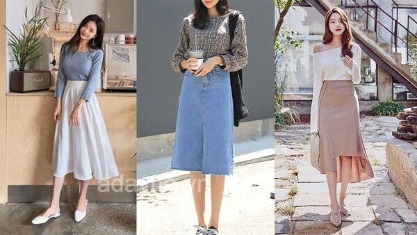Nằm lòng 6 tips phối đồ với chân váy dài xinh đúng điệu