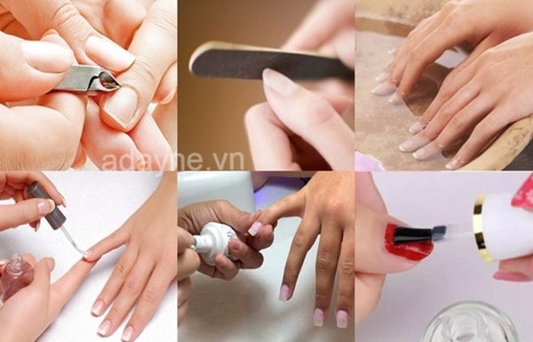 Các bước chuẩn bị trước khi tự vẽ móng tay đẹp tại nhà