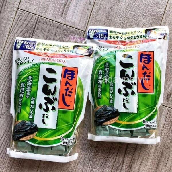 Hạt nêm ăn dặm Ajinomoto